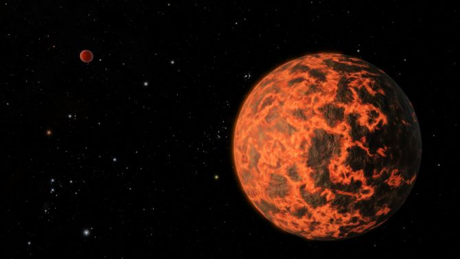 An alien world just two-thirds the size of Earth detected by NASA's Spitzer Space Telescope