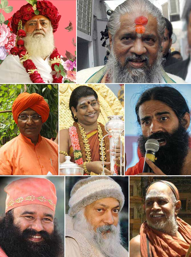 These are India's most controversial godmen