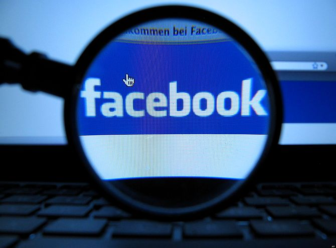 India scanned 18 Facebook users daily this year