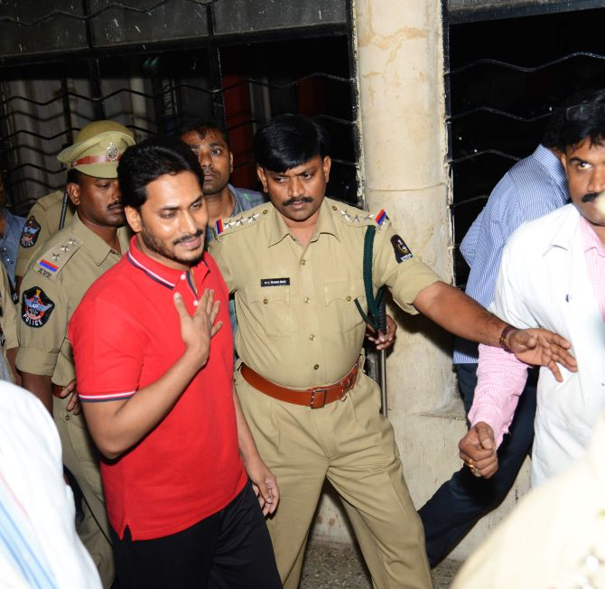 Police shift Jaganmohan Reddy top hospital after it ended his five-day hunger strike inside Chanchalguda jail