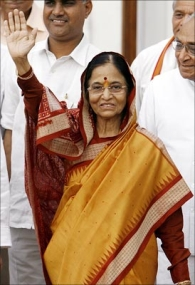 pratibha patil family photo