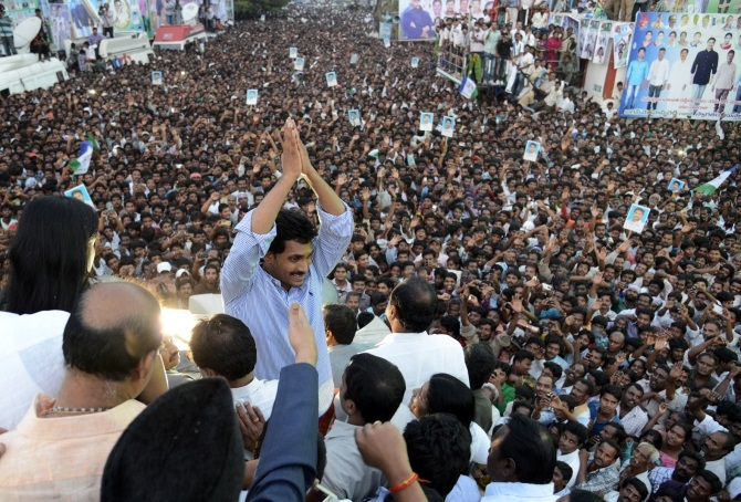 Jaganmohan Reddy has been fighting for a united Andhra Pradesh