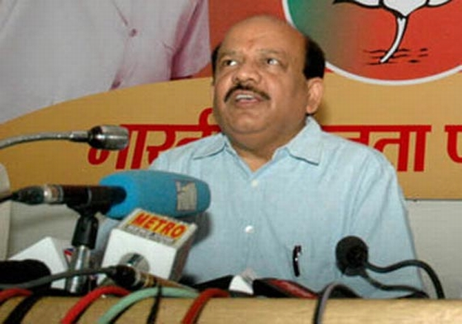 BJP's chief ministerial candidate Harsh Vardhan