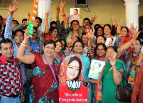 India News - Latest World & Political News - Current News Headlines in India - Raje won't have many women MLAs in the Assembly