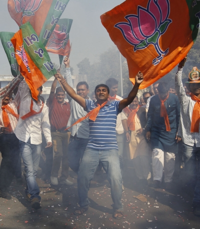 India News - Latest World & Political News - Current News Headlines in India - BJP wins 4-0 in 'semi-final' polls, Cong suffers humiliating defeat