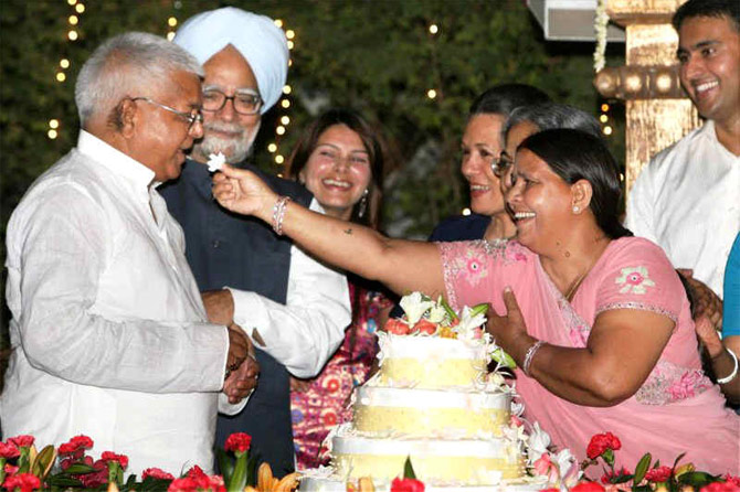 Lalu Prasad: Once CM, now prisoner, some times gardener