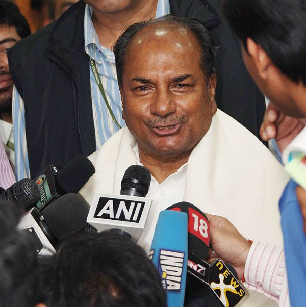 A K Antony's intellectual dishonesty