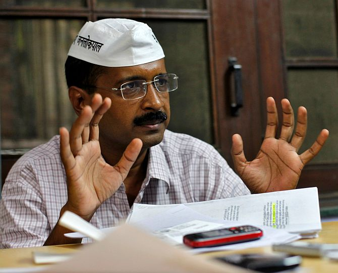 Arvind Kejriwal says the AAP's voters were cheated in the last days of the Delhi election campaign