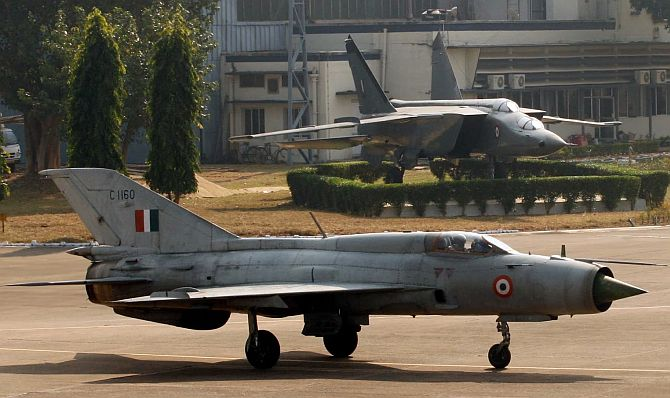 'I have the greatest professional regard for MiG-21'