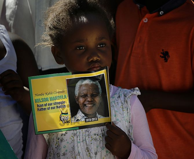 Mandela laid to rest in childhood village