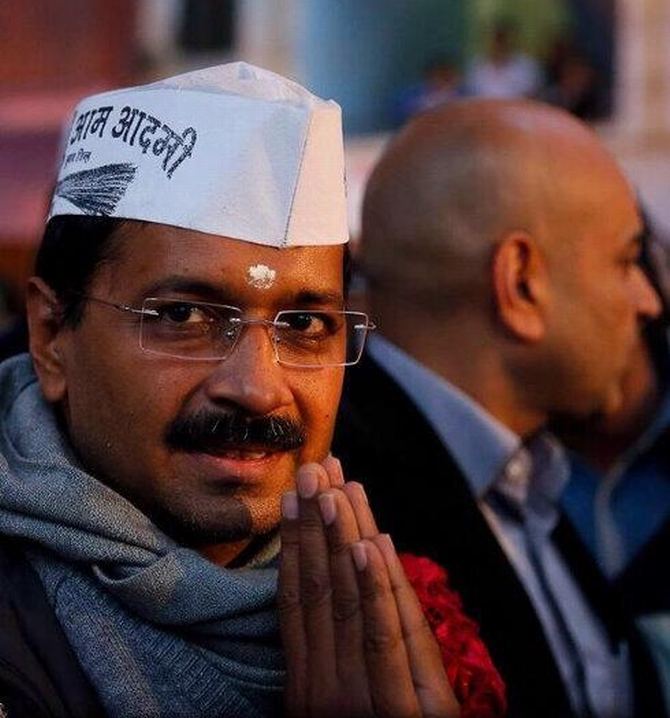 Delhi Chief Minister Arvind Kejriwal completed one month in office on Tuesday
