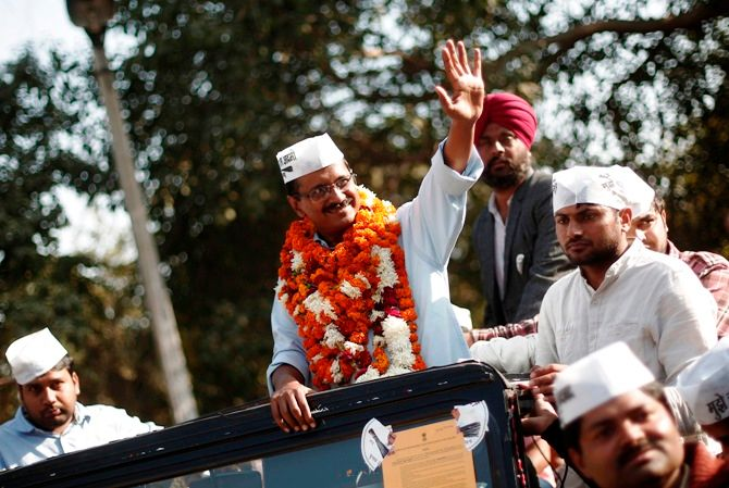 Arvind Kejriwal-led Aam Aadmi Party brought an end to Sheila Dikshit's 15-year stint in New Delhi