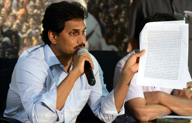 YSR Congress chief Jaganmohan Reddy is proving to be a major headache for Congress