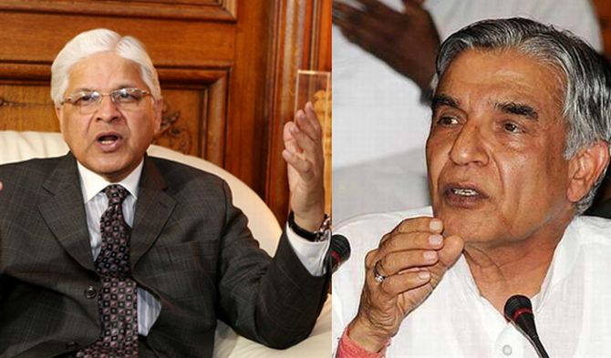 Union ministers Ashwani Kumar and Pawan Kumar Bansal were forced to quit in the wake of controversies