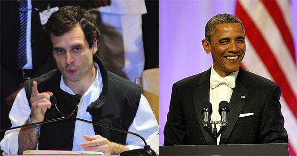 In January, both Rahul Gandhi and Barack Obama made their landmark acceptance speeches.