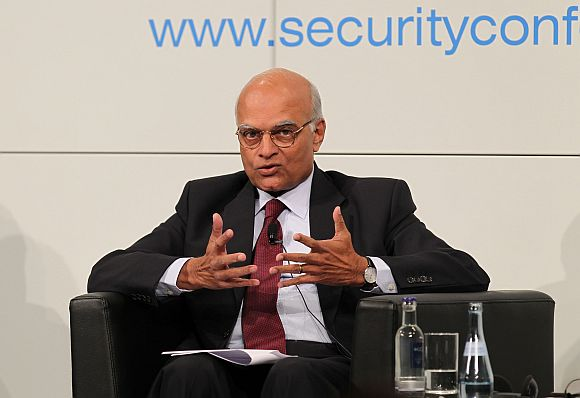 National Security Advisor Shivshankar Menon at the Munich Security Conference