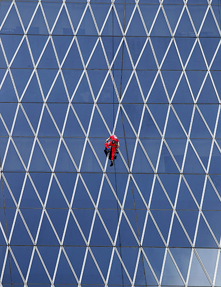 In PHOTOS: Adventures of the French 'Spiderman'