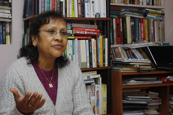 'Political stability doesn't guarantee you anything,' says Patricia Mukhim, Editor, Shillong Times.