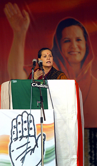 Sonia Gandhi is a stickler for detail.