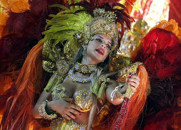 PHOTOS: At Brazil's crackling carnival, anybody can dance!