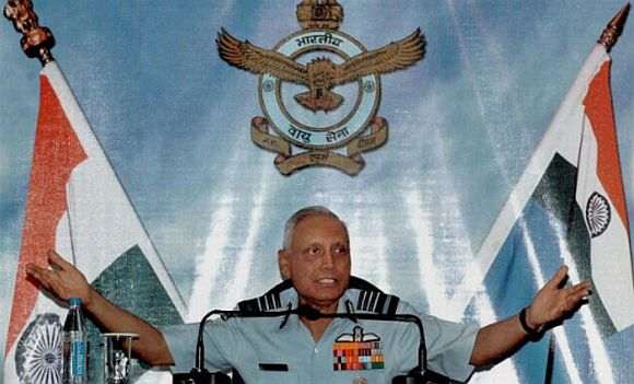 Former Air Chief Marshal SP Tyagi