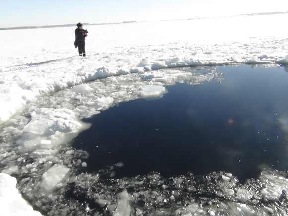 Meteorite fragments found in Russia's Urals region