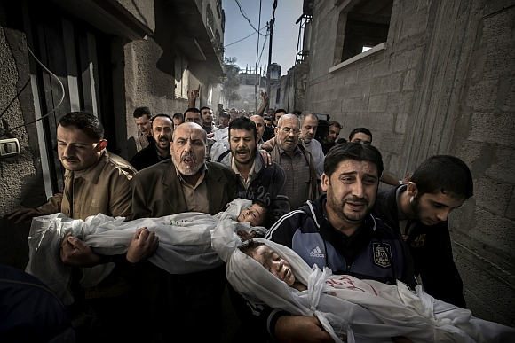 STUNNING winners of the World Press Photo 2013 contest