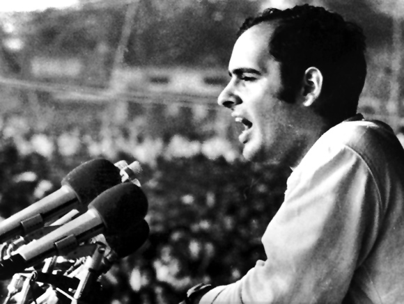 There's a story in the book that Sanjay Gandhi had slapped Indira Gandhi six or seven times.