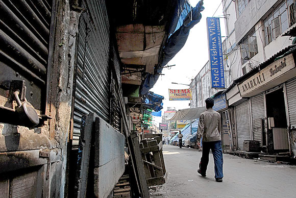 Markets remained shut in Guwahati