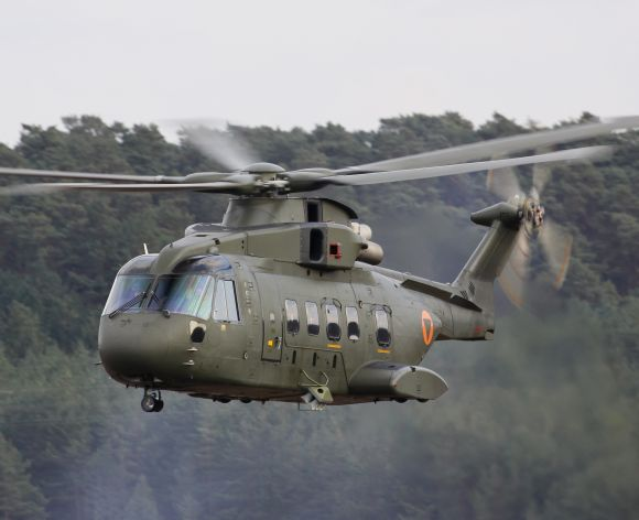 The AgustaWestland AW-101 helicopter