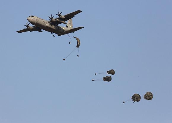 IAF's Parajumping Team, Akash Ganga