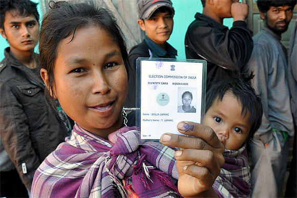PIX: Defying bandh call, Meghalaya registers 88% voting