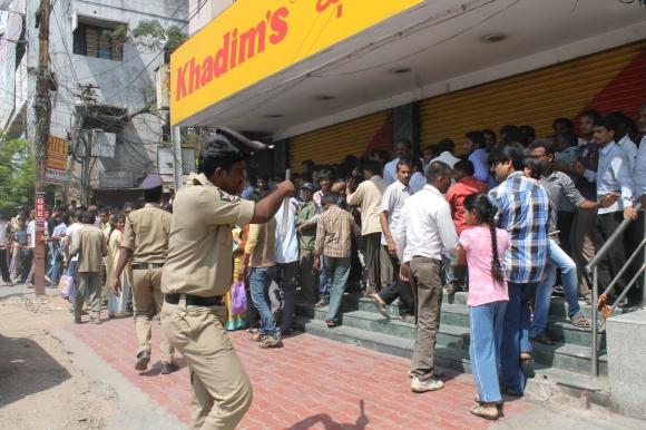 PM's visit puts Hyderabad under 'curfew'