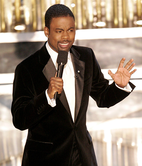 Oscar host Chris Rock performs during the 77th annual Academy Awards in Hollywood, February 27, 2005