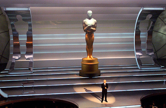 Steve Martin hosts the 73rd annual Academy Awards in Los Angeles