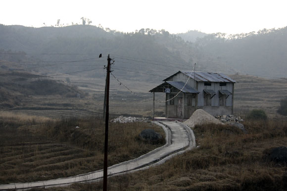 A home in the East Khasi Hills.