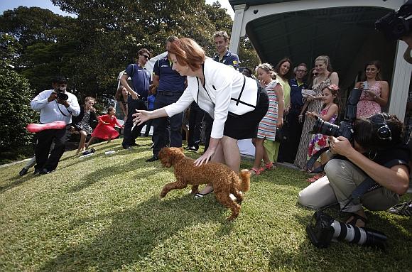 No 20. Australian Prime Minister Julia Gillard