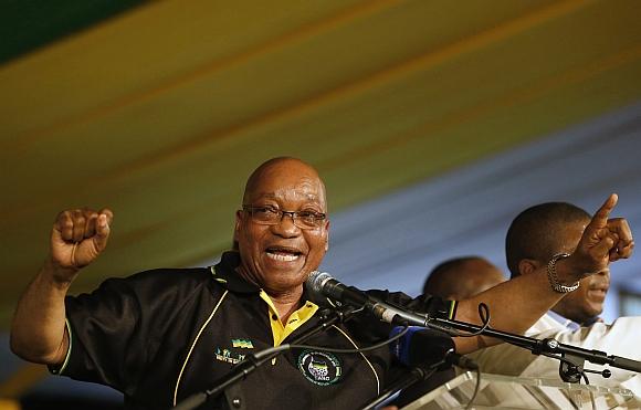 No 24. South Africa President Jacob Zuma