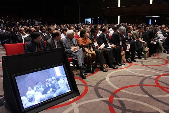 Delegates at the meet