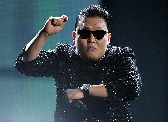 South Korean musician PSY