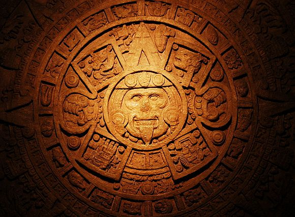 An edict showing the Mayan calendar