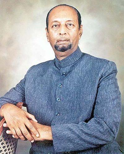 Former MIM president late Sultan Salahuddin Owaisi