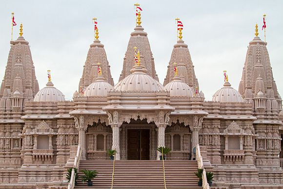 The Swaminarayan Temple in Hollywood, US
