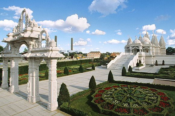 Swaminarayan Mandir in Neasden, north London