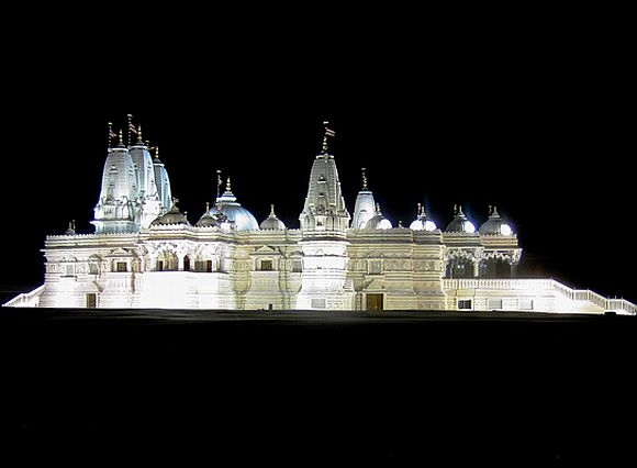 Swaminarayan Mandir Complex in Bartlett, Chicago