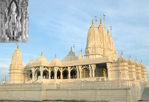 Swaminarayan Mandir in Houston
