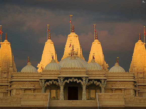 Swaminarayan Mandir in Atlanta, US