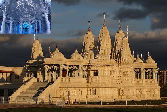 Swaminarayan Mandir complex in Toronto, Canada