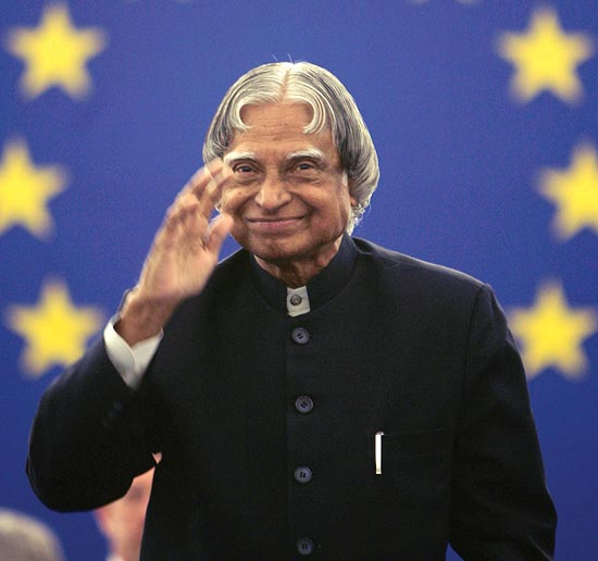 Dr Kalam shares his thoughts for a sustainable development model.