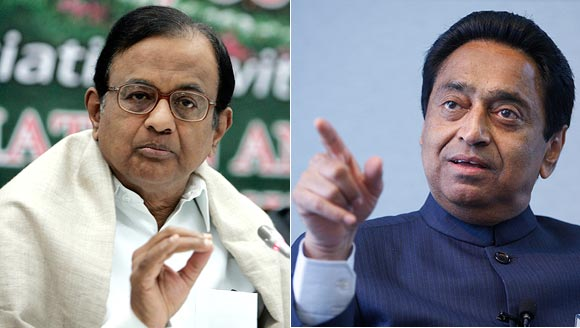 P Chidambaram and Kamal Nath share warm vibes these days.